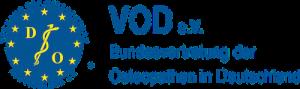Praxis Helling Mitglied im VOD Bundesvertretung der Osteopathen in Deutschland