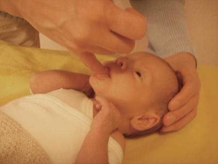 osteopathische Behandlung von Babys in Bielefeld